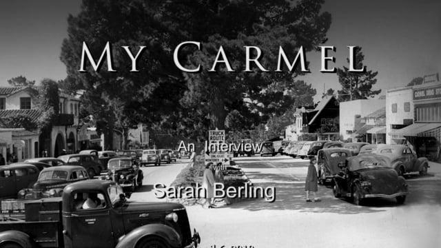 My Carmel Oral History Project
