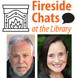 Fireside chats at the library