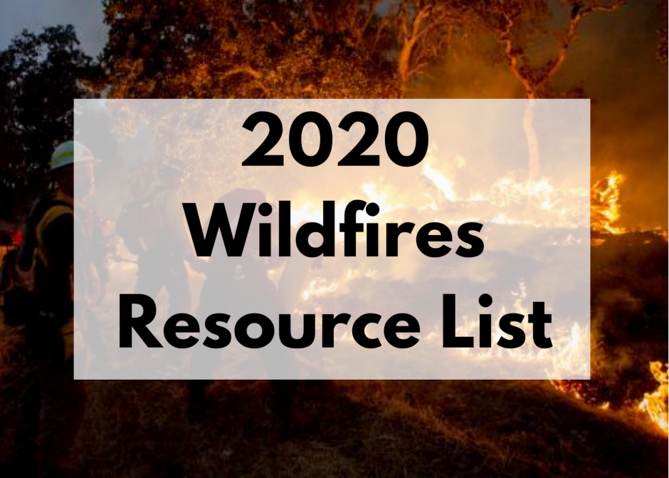 2020 Wildfires Resource List