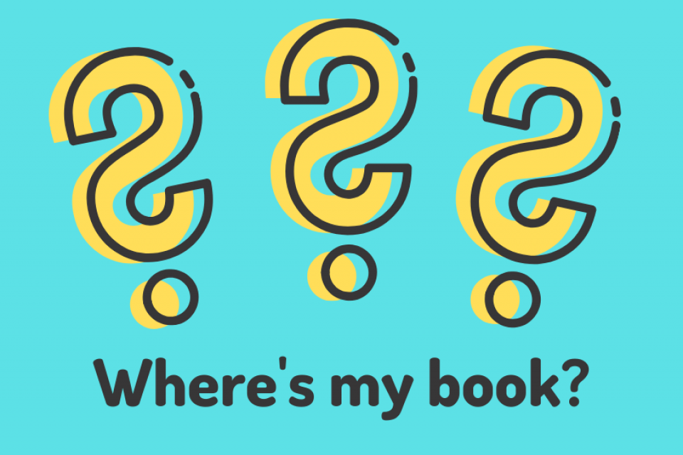 Where's my book?