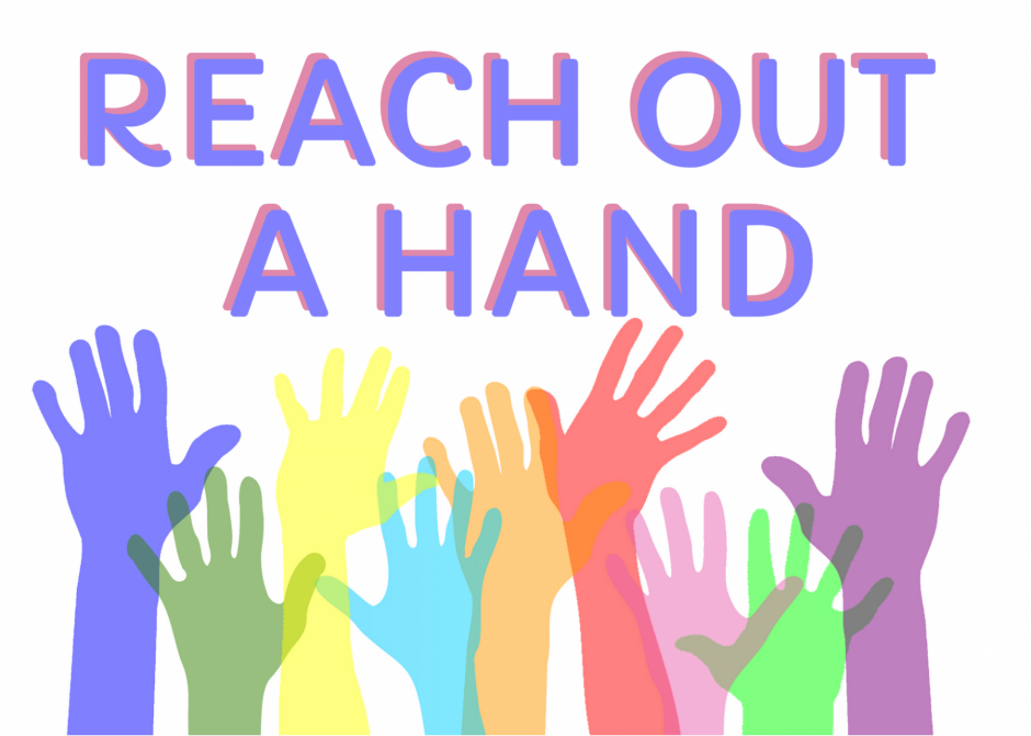 Reach out a hand to help your community